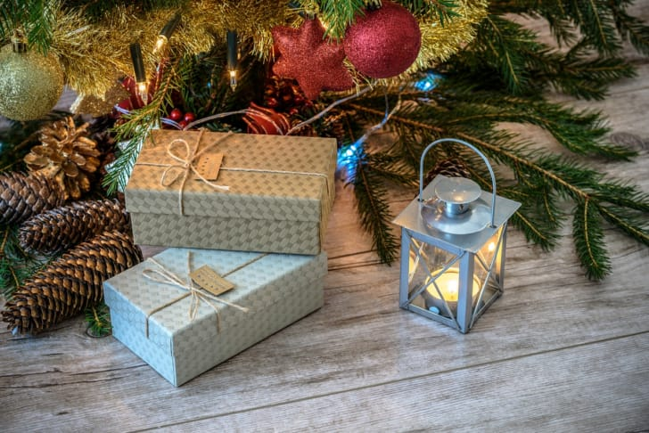 クリスマスプレゼントboxの写真