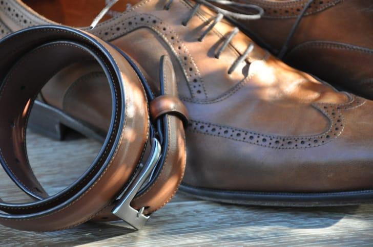 革靴の写真