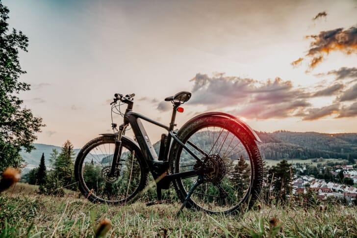 電動自転車の写真
