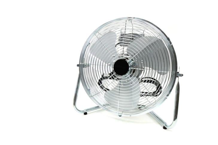 置き型扇風機の写真
