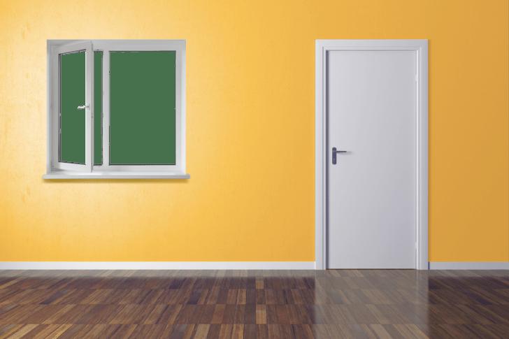 ドアと窓の写真
