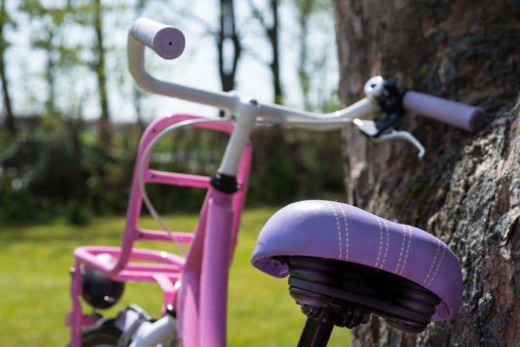 子供用自転車の写真